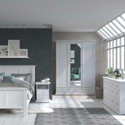 Schlafzimmer Morgane Weiß