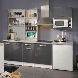 Küche Spoon Glossy Grey