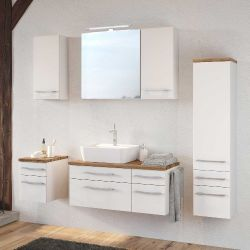 Badezimmer Dasa - weiß