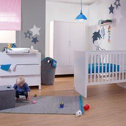 Babyzimmer Quadro White