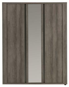 Kleiderschrank Eline - 3 Türen