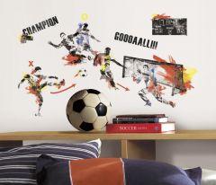 RoomMates Wandsticker - Fußballmeister