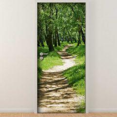 Türaufkleber Trail