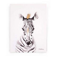 Ölgemälde Zebra 30X40