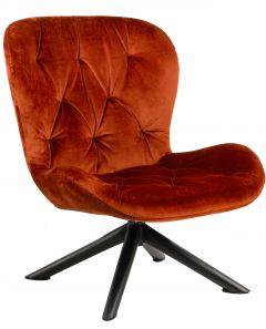 Batilda - A1 resting chair - matt black, copper