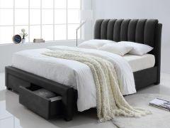 Bett Bedoni 140x200 - schwarz