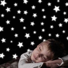 Wandsticker Sterne Glow in the dark