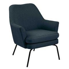 Chisa resting chair - black, dark blue