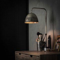 Tischlampe storage - Alt Silber Finish
