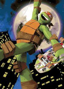 Teppich Turtles - Michelangelo Skate