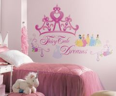 Roommates Wandtattoo - Disney Prinzessinnen Krone