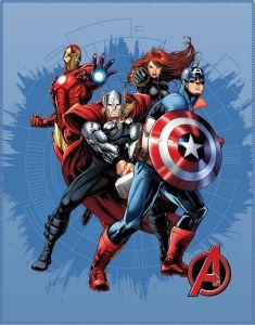 Kuscheldecke Avengers Challenge