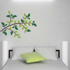 Wandaufkleber 3D Green Branch - Schaumstoffaufkleber