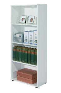 Bücherregal Parini 4 Fächer - weiß