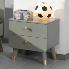 BILLY NIGHTSTAND OLIVE GREEN *