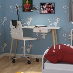Desk GAIA - Desk with 1 drawer - EXTRA WHITE