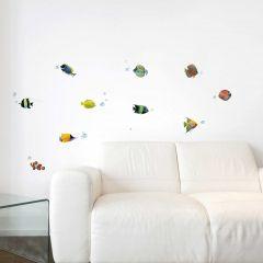 Wandsticker Fische