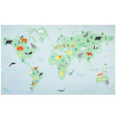 Teppich Weltkarte
