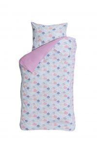 Bettbezug Cloudy rosa