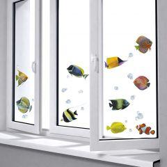 Fensteraufkleber Fische