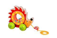Pull Along - Baby Hedgehog