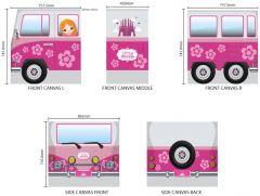 Bettzelt Bus