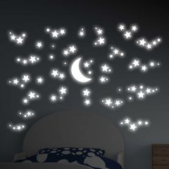 Wandsticker 3D Starry Night - Glow in the Dark