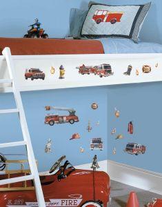 RoomMates Wandsticker - Feuerwehr