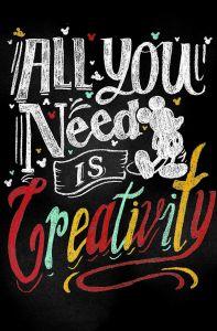 Leinwandbild Creativity