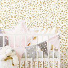 Disney Princess Icons M.Glitter-Gold