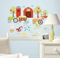 RoomMates Wandsticker - Farmtiere