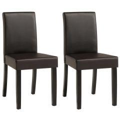 Esszimmer-Stühle Wendy im 2er-Set