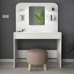 1741 Vanity Table Secret White