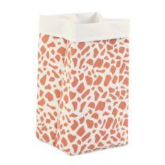 Leinwand Box 32X32X60 Weiss Giraffe