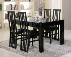 Roma Schwarz Tisch 160