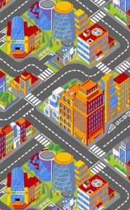 Teppich Big city - klein