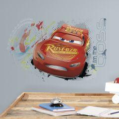 Wandaufkleber Autos 3 Lightning McQueen