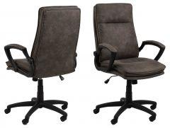 Brad desk chair - black, anthracite