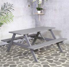 Remia picknicktable grey , FSC 100%