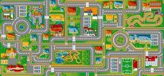 Teppich Play City – 95x200