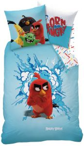 Bettwäsche Angry Birds Red 140x200