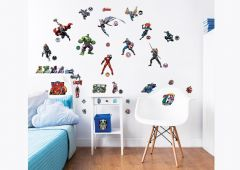 Wandsticker Avengers Heroes