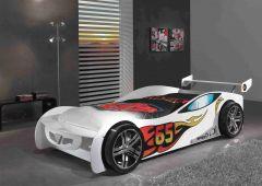 Autobett Le Mans - weiß