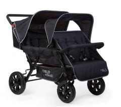 Mehrfacher Kinderwagen Two by Two für 4 Kinder