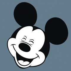 Leinwandbild Disney Micky