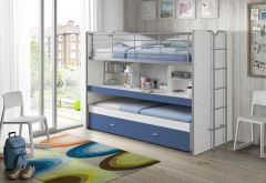 Hochbett Bonny 80 - blau