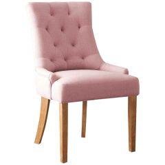 Set mit 2 Stühlen Anny - rosa