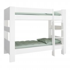 Bunk bed STEENS FOR KIDS 615 - 90x200 bunk bed incl. slats - EXTRA WHITE