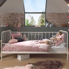 ALICE CAPTAIN BED WHITE 90x200CM