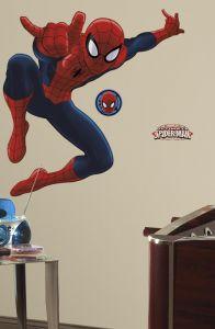 Roommates Wandtattoo - Ultimate Spiderman maxi